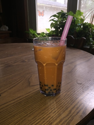 Thai Tea with Boba